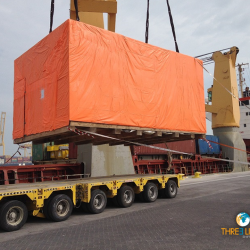 <b>102 TONS Generator movement <br>from Hamad to Marghera</b>