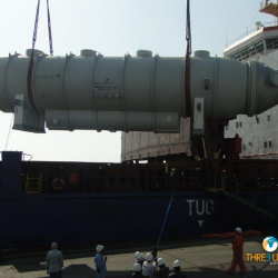 <b>93 Tons Brine Heater movement <br>from Jebel Ali to Hamad</b>